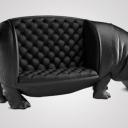 Víziló kanapé 21,5 millióért