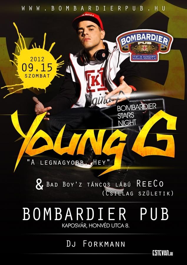 Bombardier Stars Night