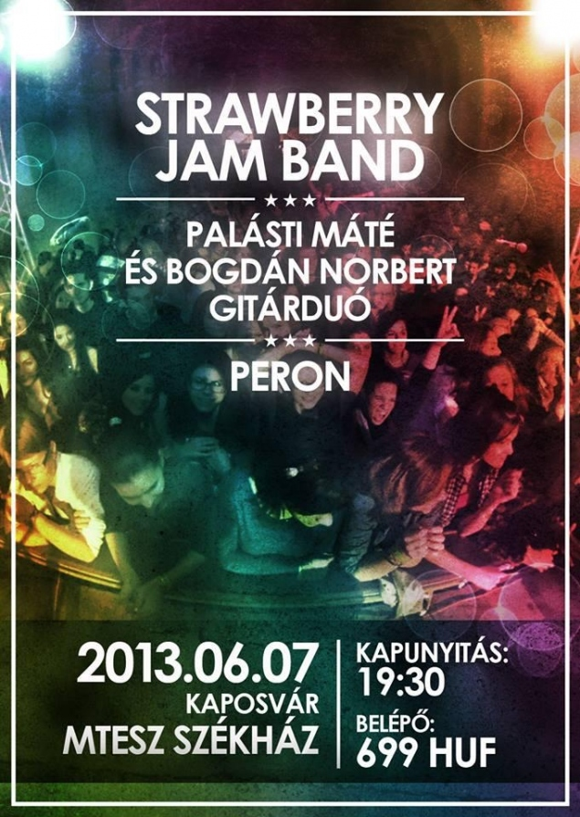 Strawberry Jam Band koncert