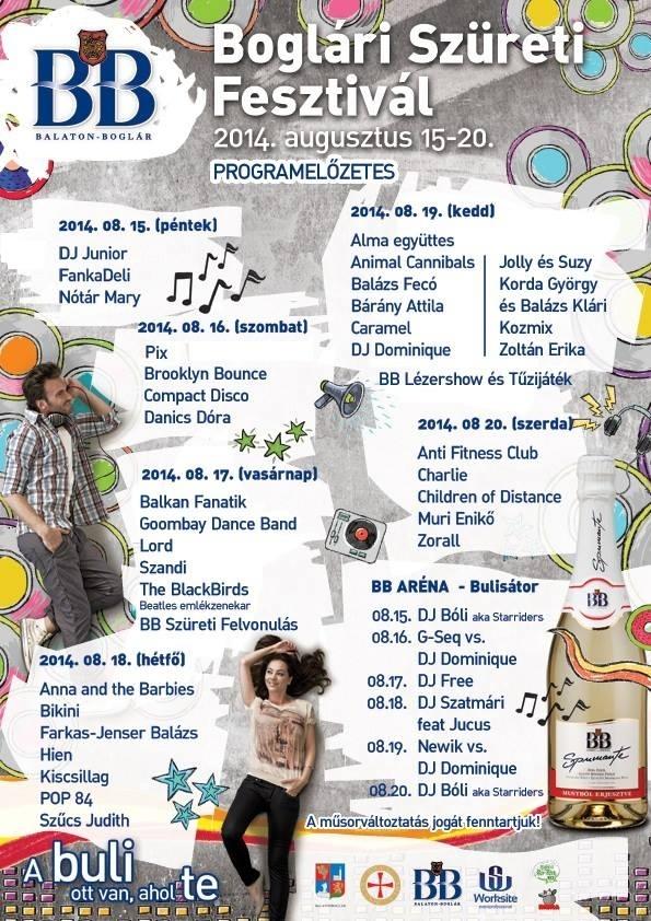 Boglári Szüreti fesztivál