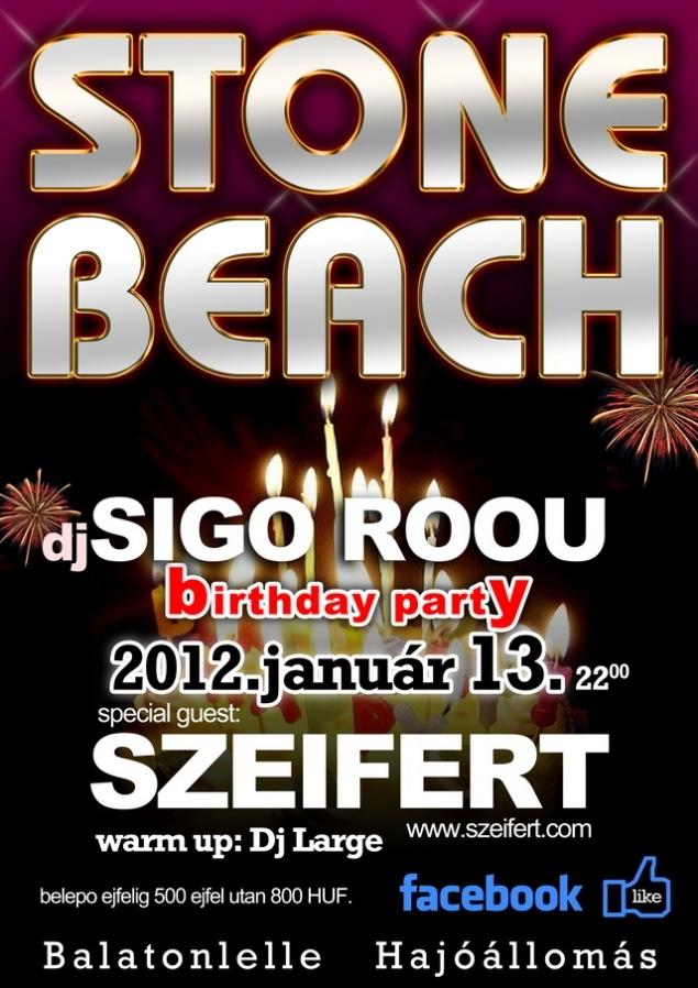 Sigo Roou Birthday party